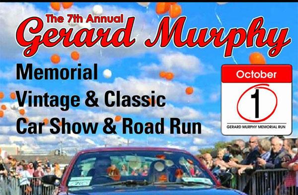 Gerard Murphy Memorial Vintage & Classic Car Show and Road Run 2017