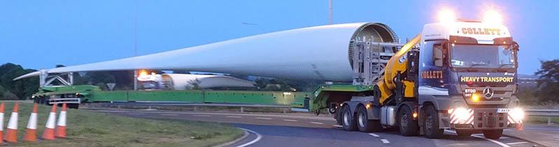 Collettmoves60 metre blades across Ireland