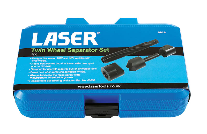 New HGV wheel separator from laser Tools