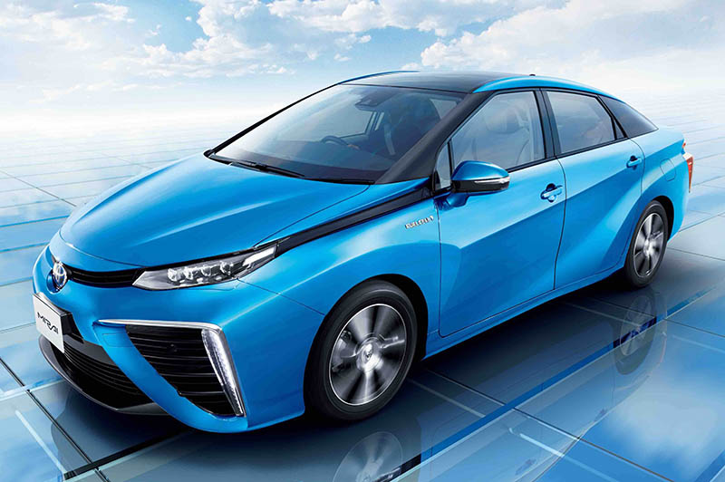 Toyota backing fuel cell power for vehicles of the future