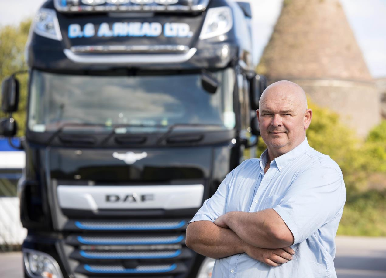 D&A Rhead takes delivery of limited edition DAF Trucks