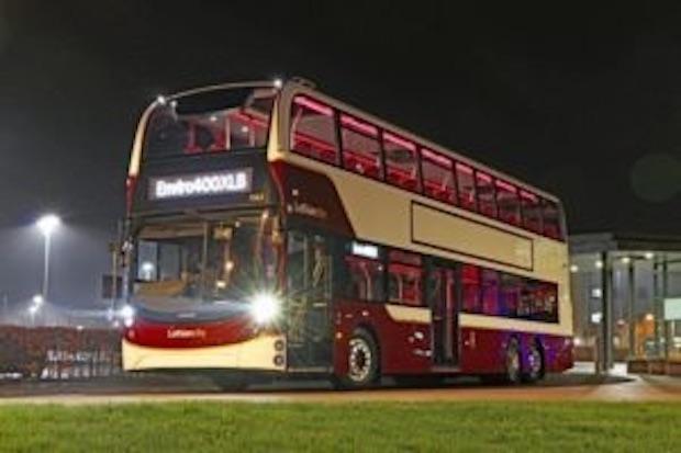 131-passenger mega buses for Scottish capital