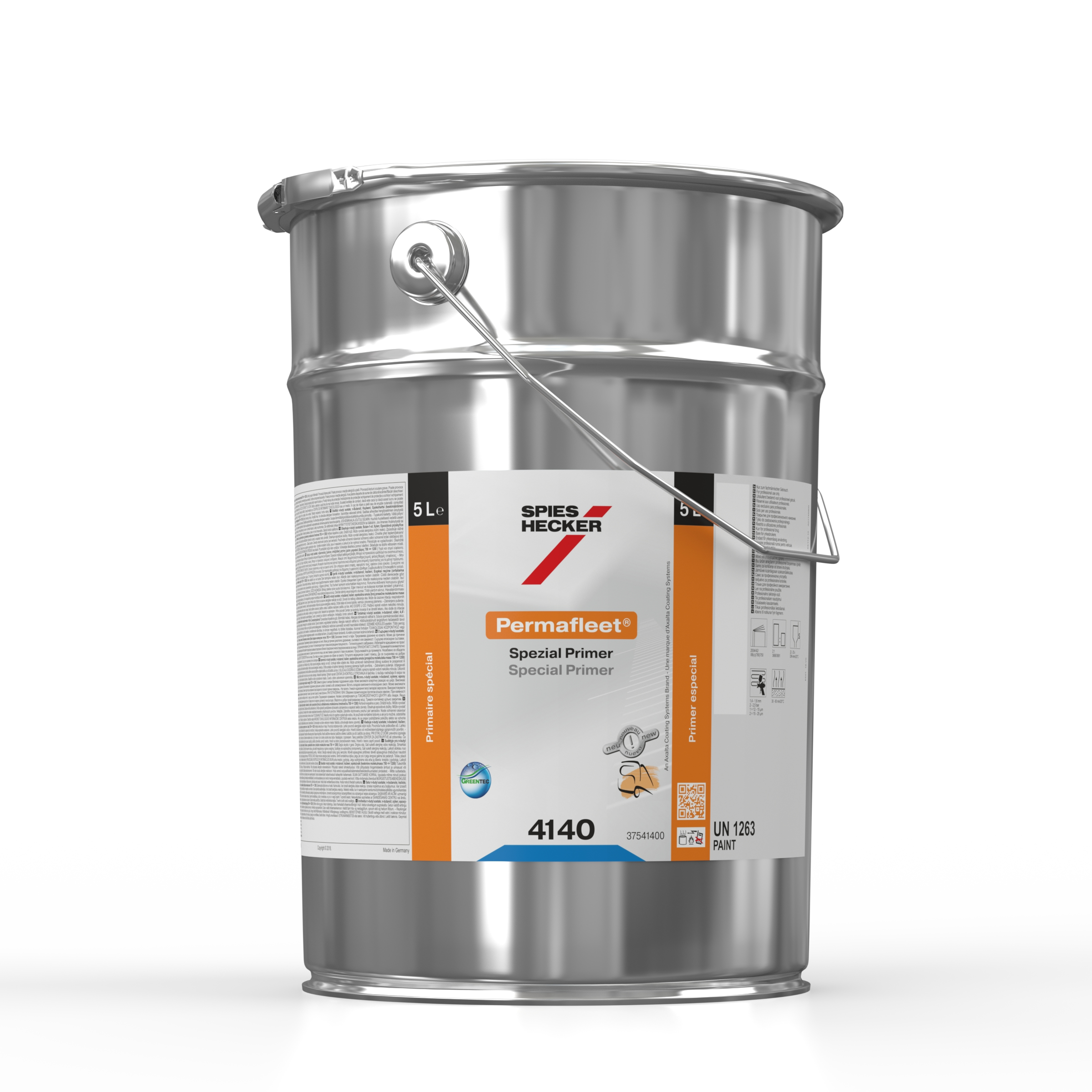 New zinc chromate-free wash primer from Spies Hecker