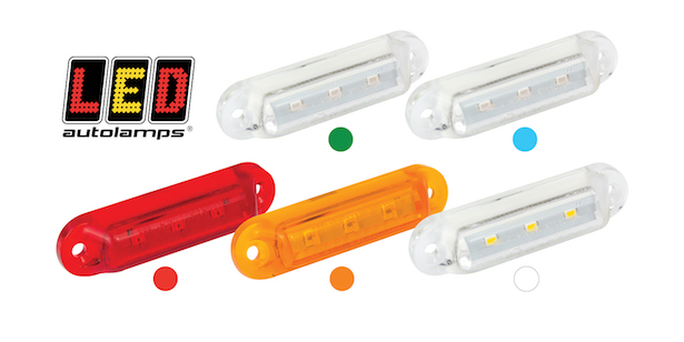 LED Autolamps unveils new 3-LED Compact Marker Lamp