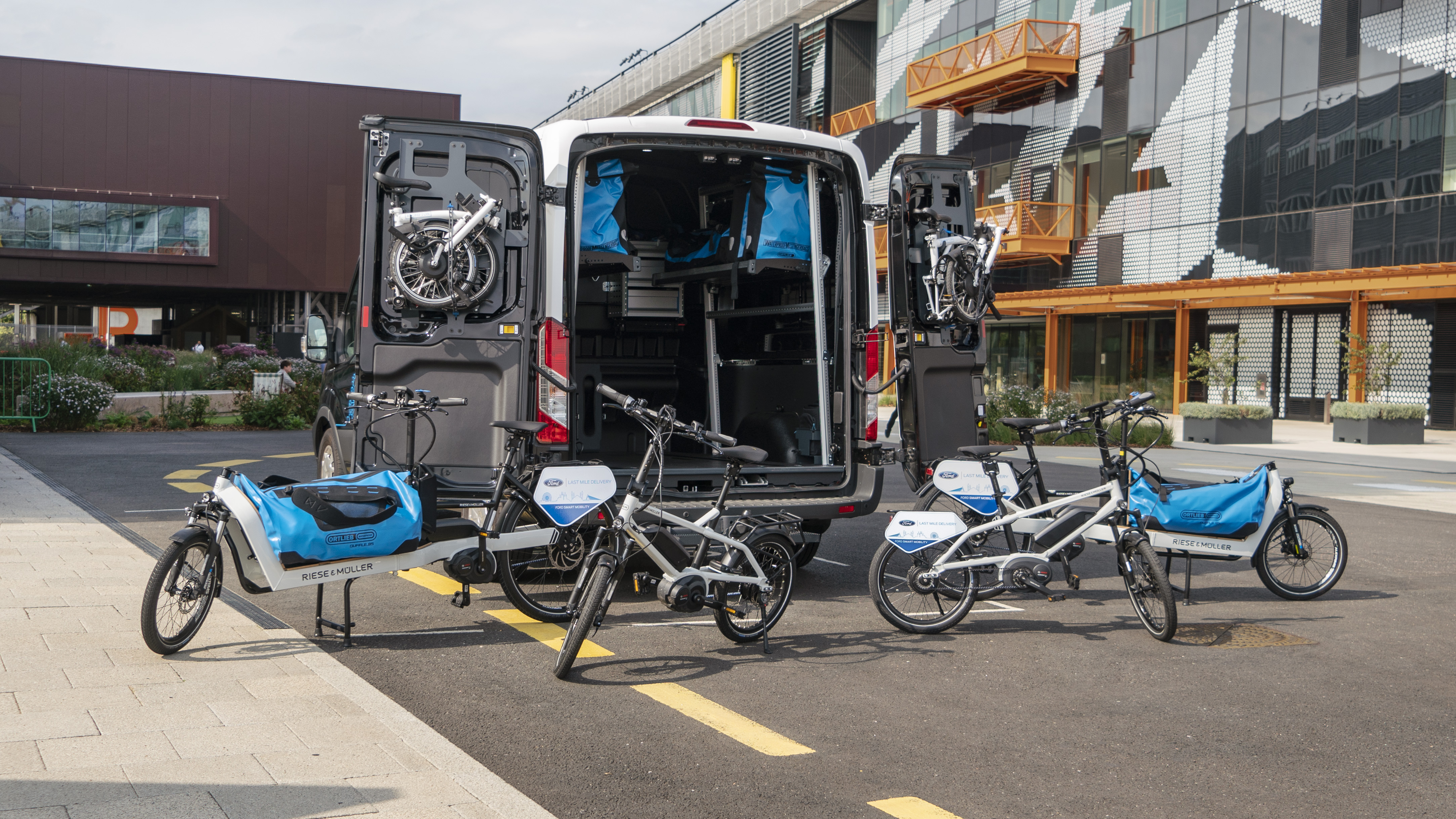 Ford trails last-mile delivery service in London