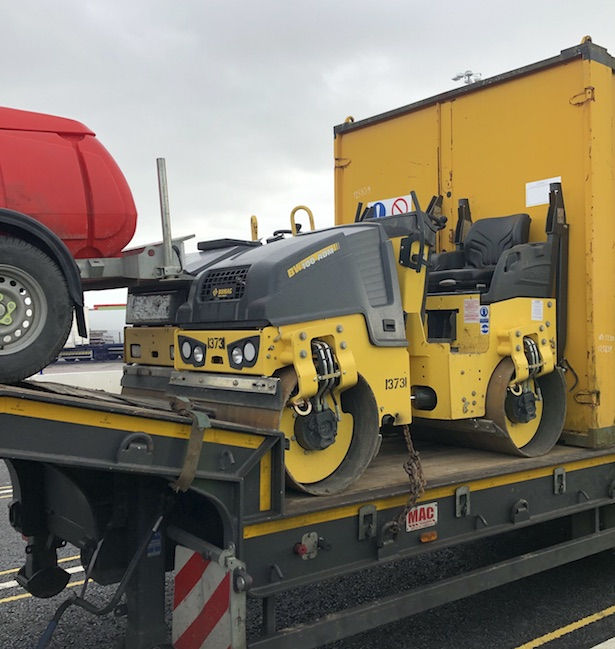 Stolen plant destined for Ireland seized at Holyhead