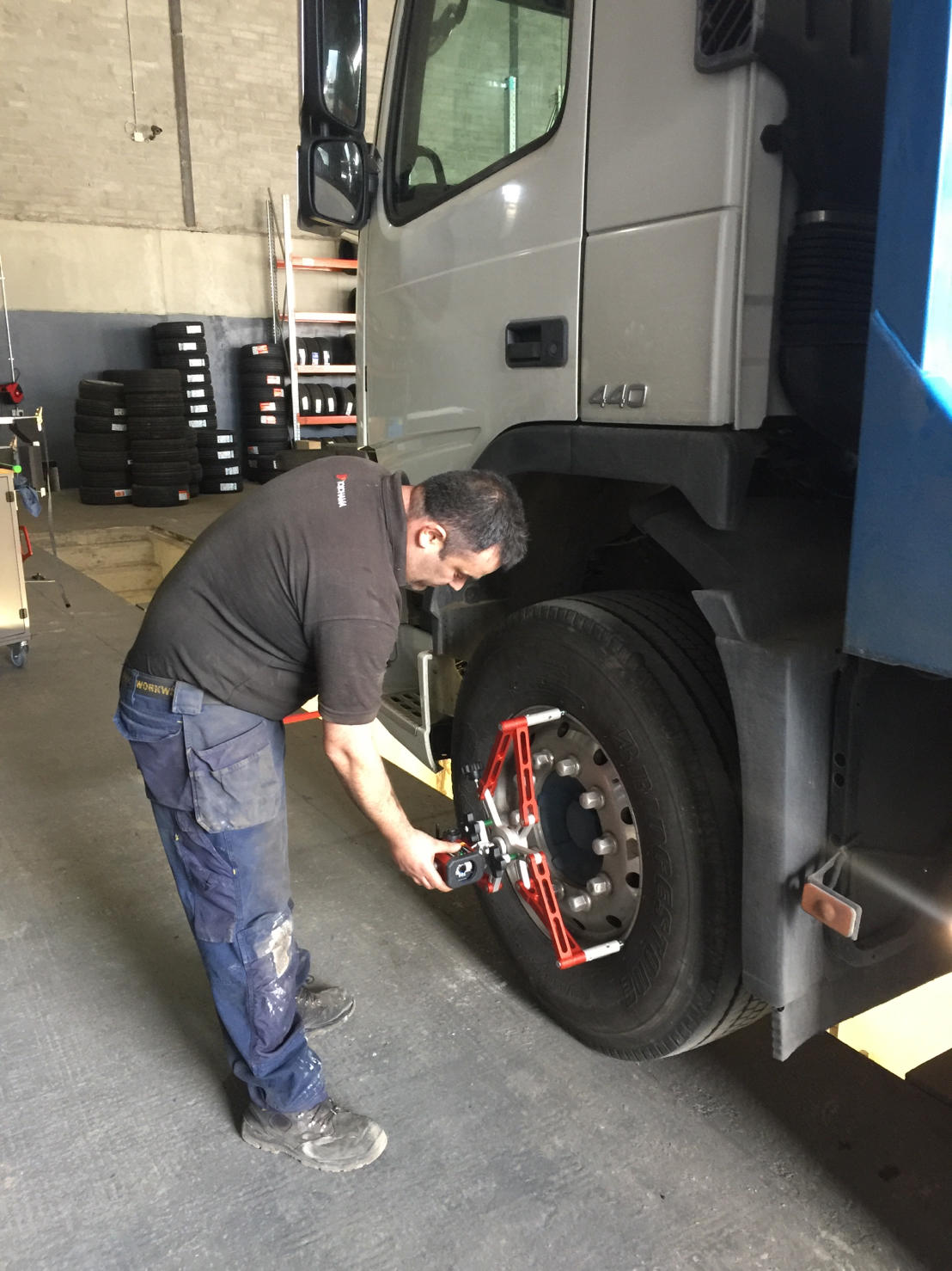 FES provides Josam alignment system to Limerick tyre centre