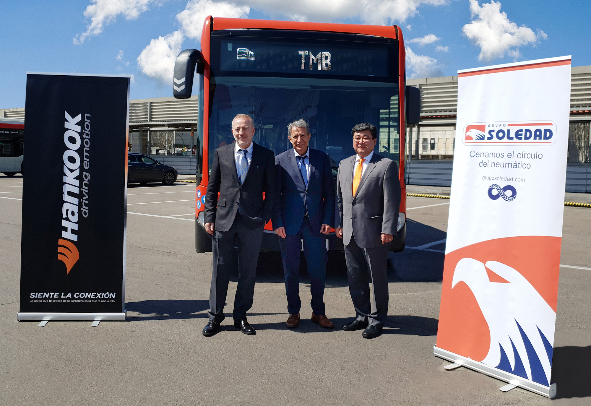 Hankook to supply over 1,100 buses in Barcelona with new tyre range