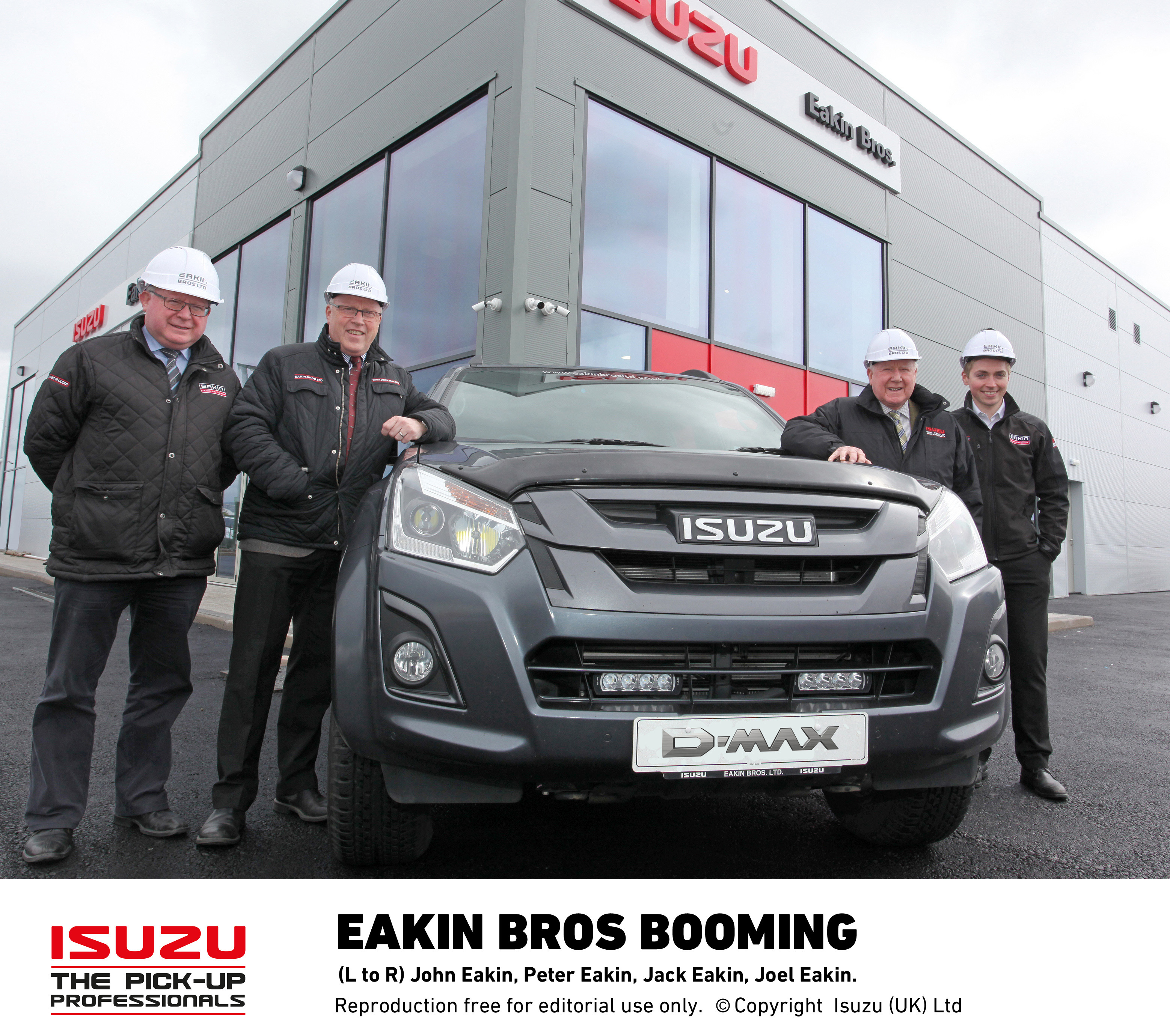 New Isuzu dealership in North West