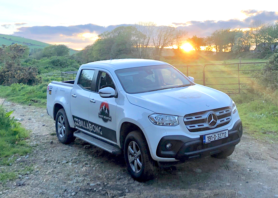 mercedes benz x class links with outdoor pursuits specialists commercial vehicle workshop news. Black Bedroom Furniture Sets. Home Design Ideas