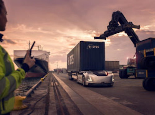Volvo's Vera takes on real-world DFDS assignment