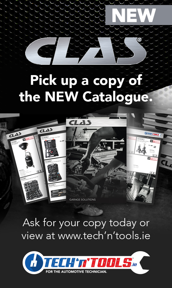 New CLAS Garage Solutions brochure from Tech'n'Tools