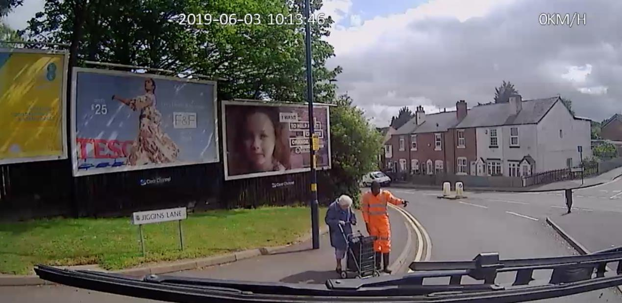 Kindness comes first for this truck driver
