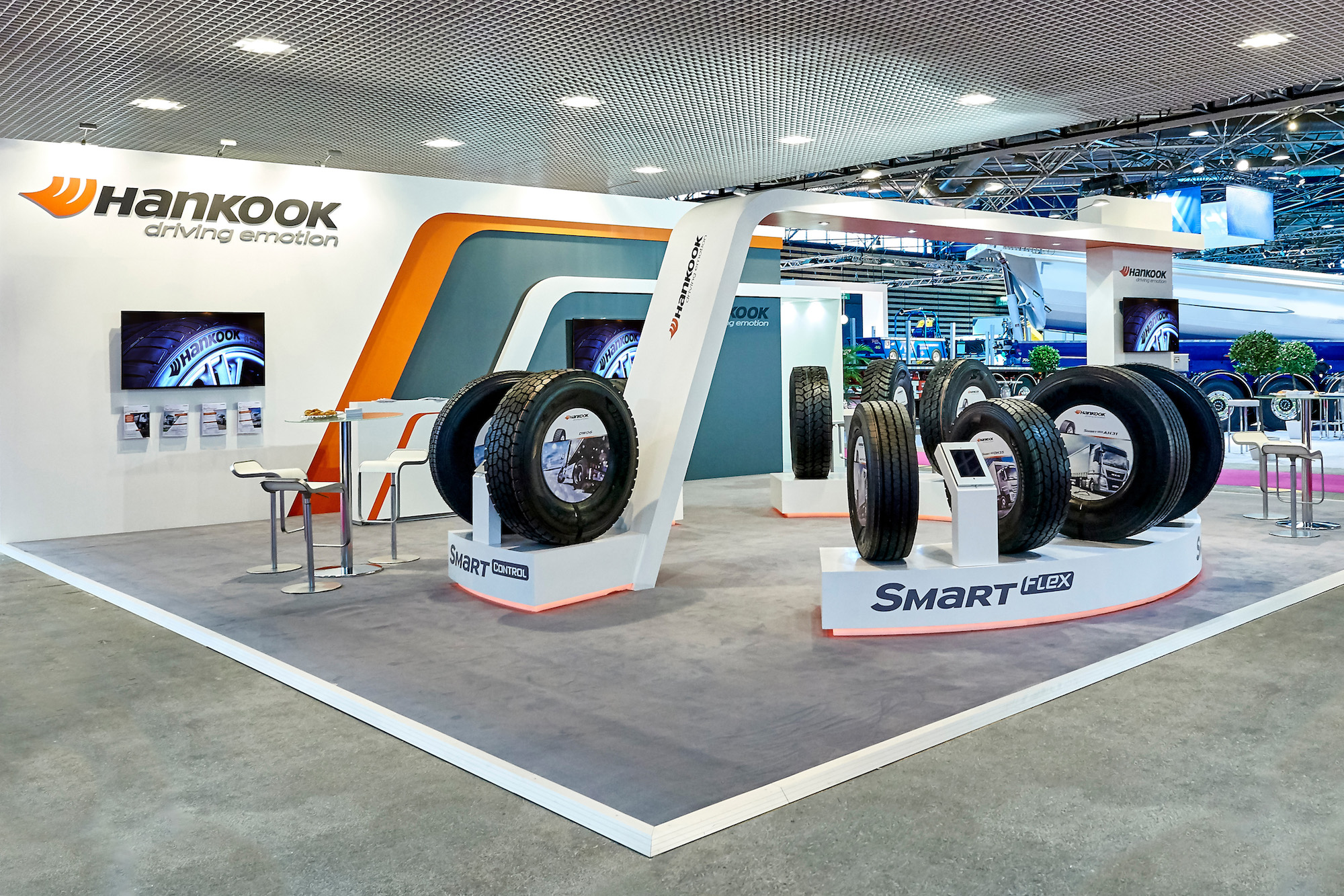 Hankook to present full range of truck and bus tyres in Lyon
