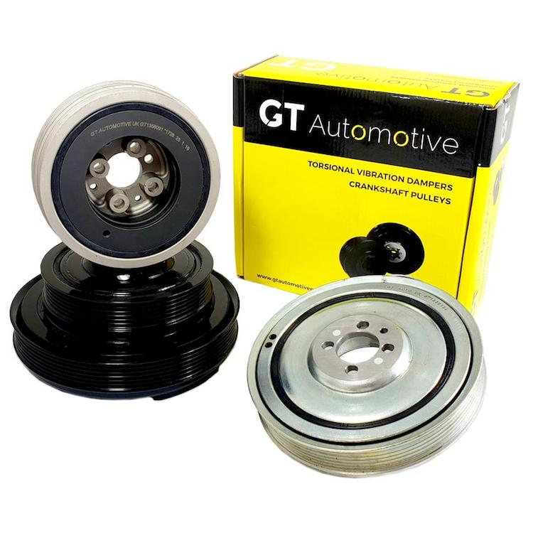 GT Automotive adds to crankshaft pulley range for Sprinter and Transit