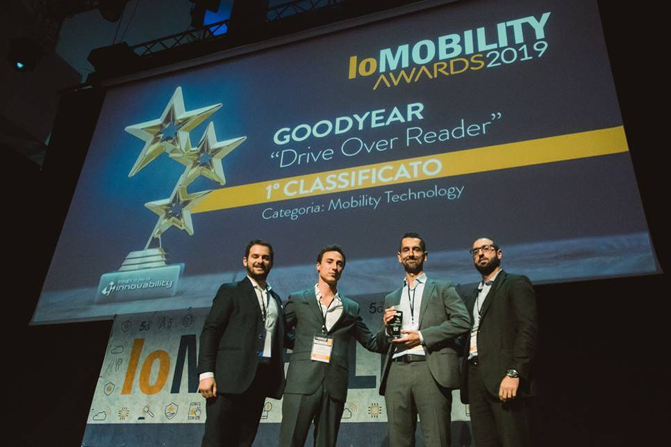 Goodyear Drive-Over-Reader wins third innovation award this year