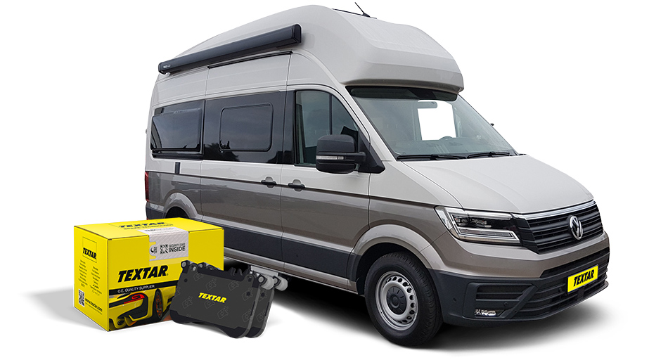 Textar adds brake pads for new VW Grand California