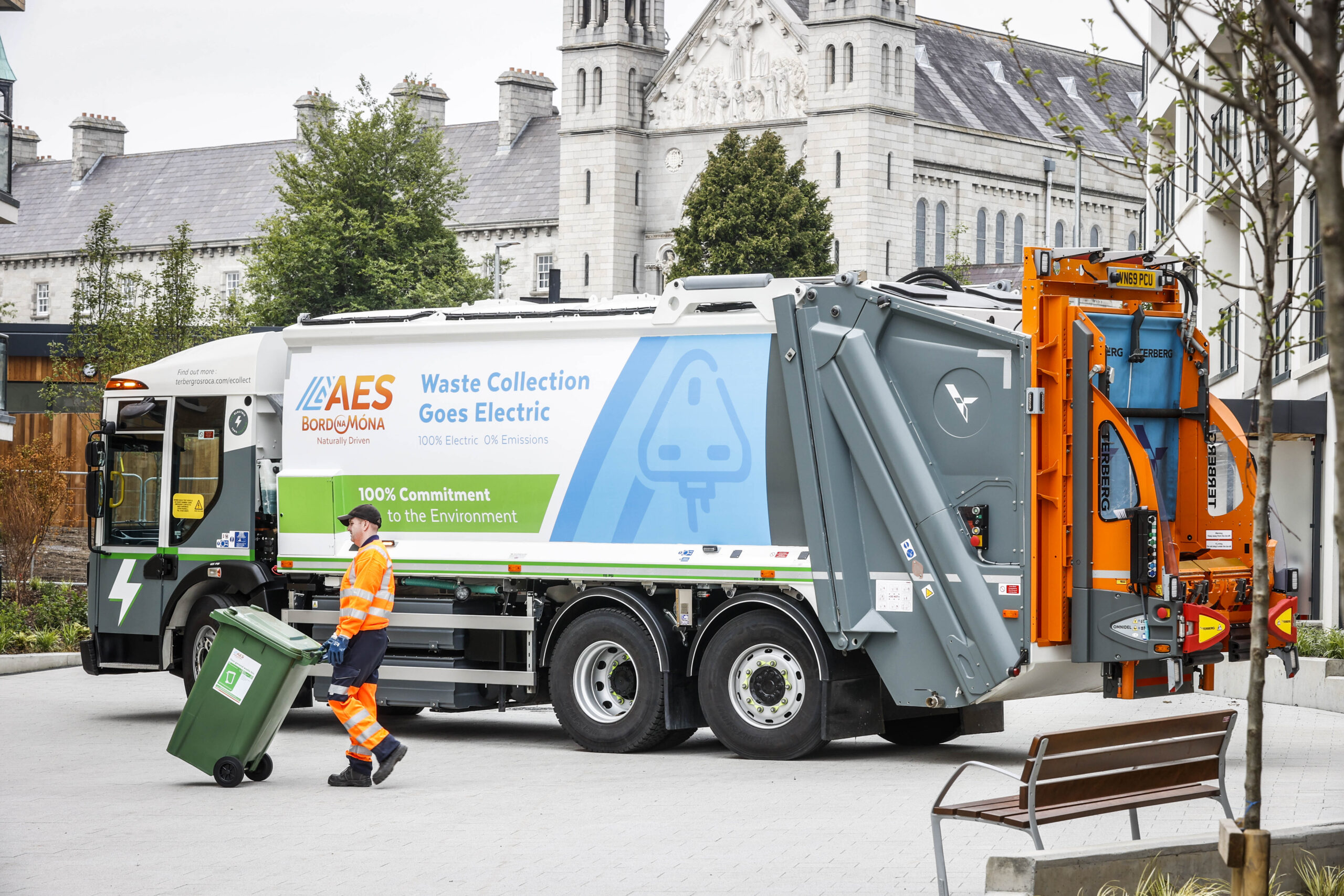 AES Bord na Móna heralds new electric age of waste collection