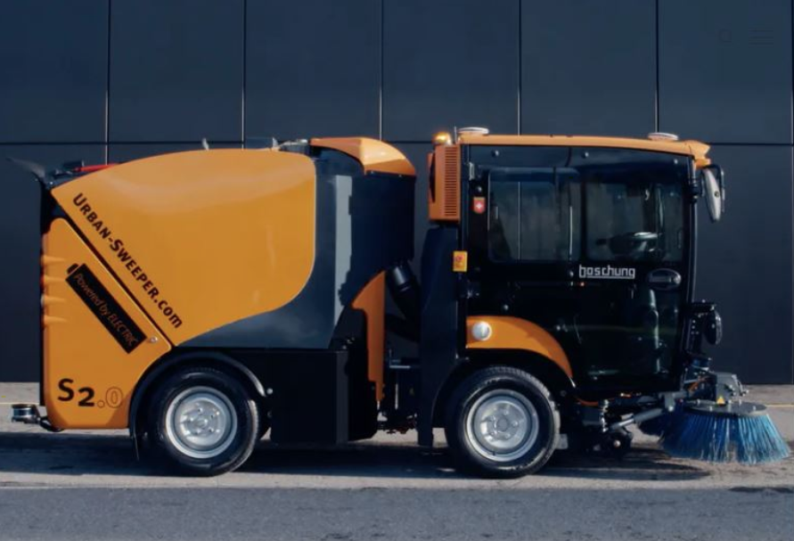 Boschung aims to clean up with autonomous street sweeper