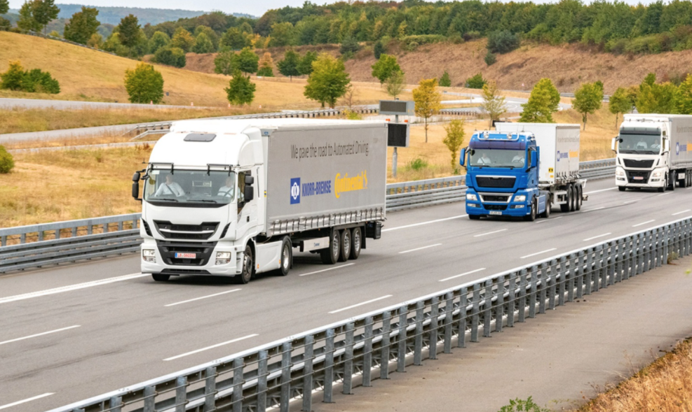 Level 4 autonomous truck trial begins in Germany