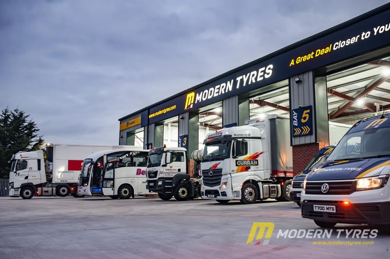 Modern Tyres opens new Belfast commercial hub