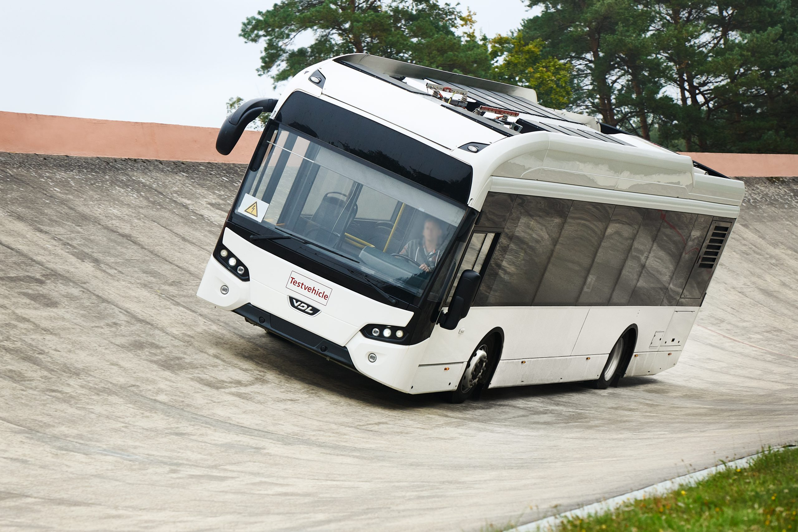 Continental testing prototype electric bus tyres