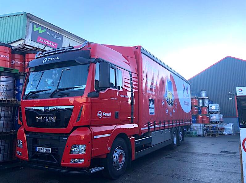 Finol adds new MAN truck to fleet