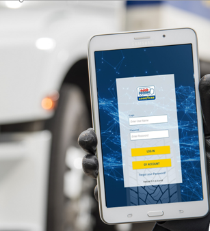 New advanced Goodyear eJob for automated commercial fleet inspection