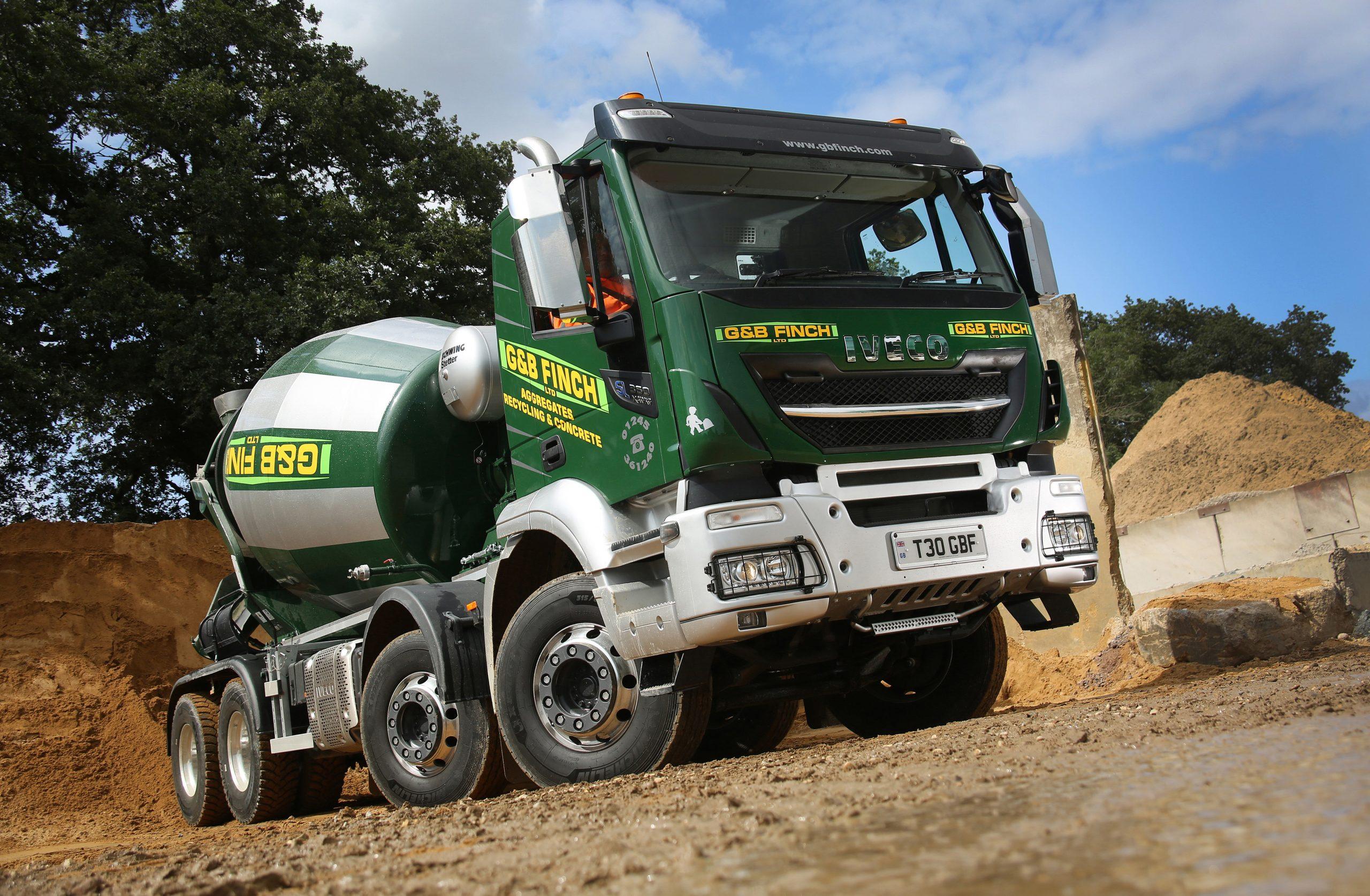 Aggregates firm praises Michelin truck tyre durability
