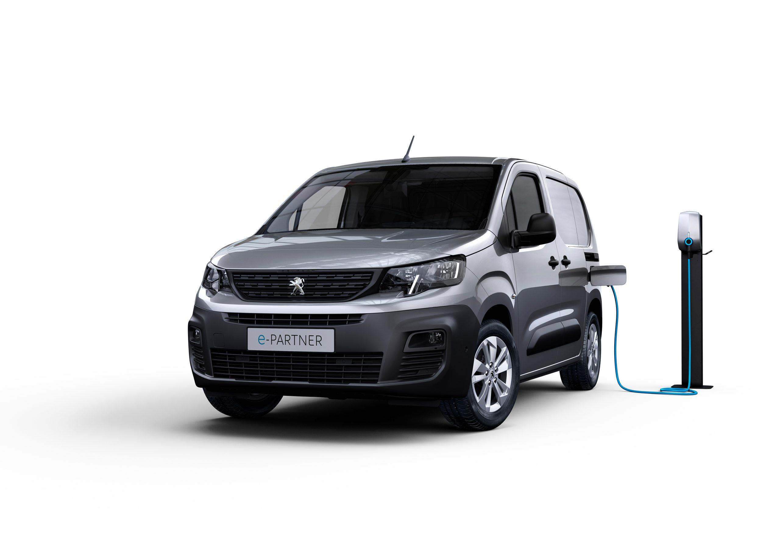 Peugeot bolsters electric van range with e-Partner