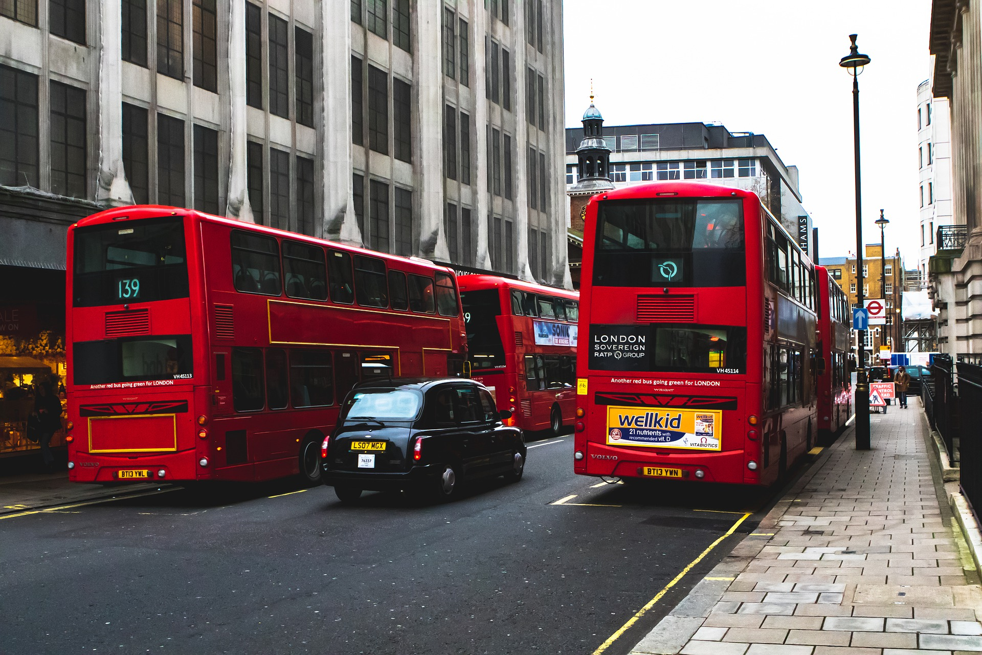 London buses now meet ULEZ criteria