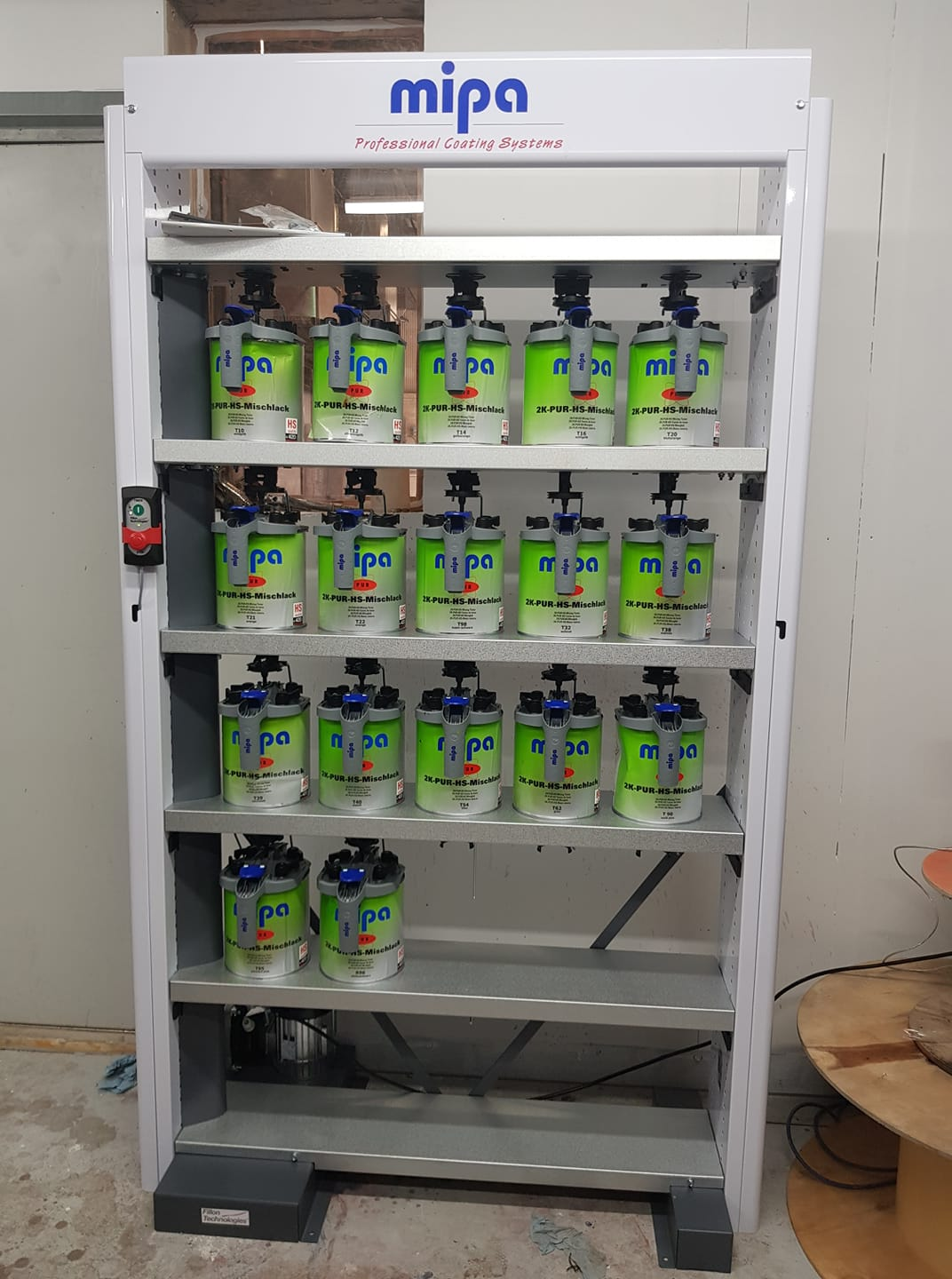 Mipa PUR HS system from Autopaint Supplies