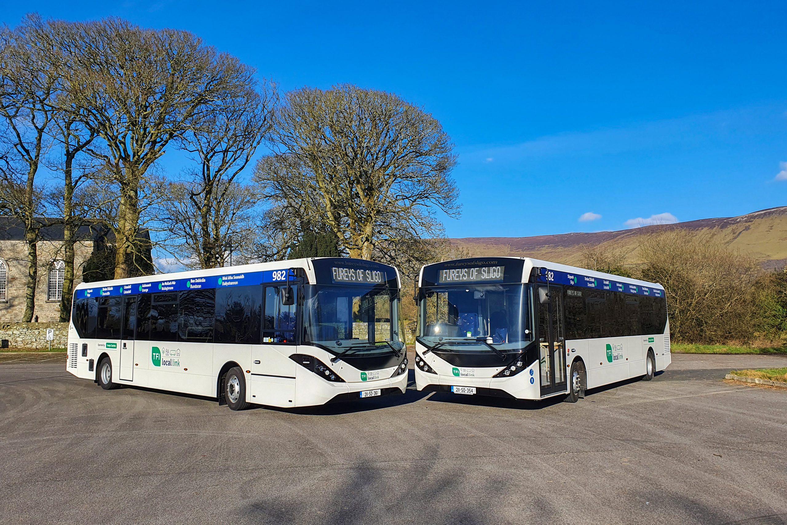 Furey's of Sligo takes delivery of two Enviro200 buses