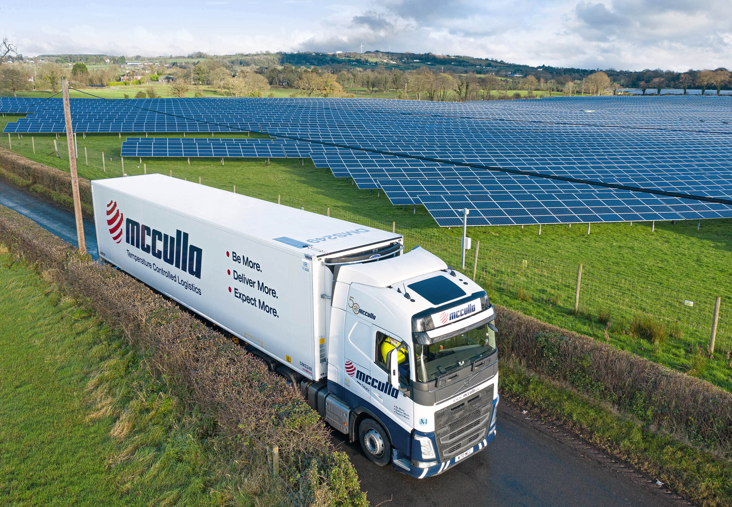 McCulla protects fridge power with Genie Insights solar technology
